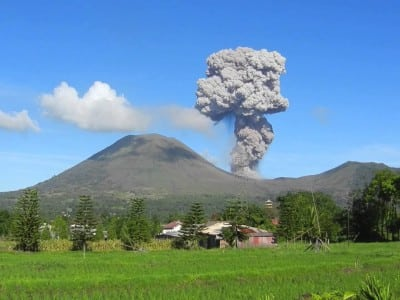 Lokon Eruption