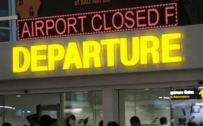 Indonesia Bali Airport Closed